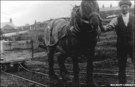 Buckley horse drawn tramway