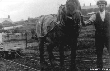 Buckley horse drawn tramway