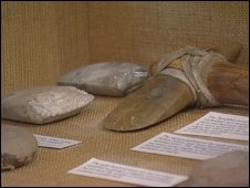 Examples of stone axes