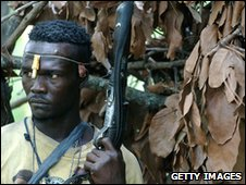Central African Republic rebel