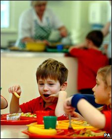 School meal time