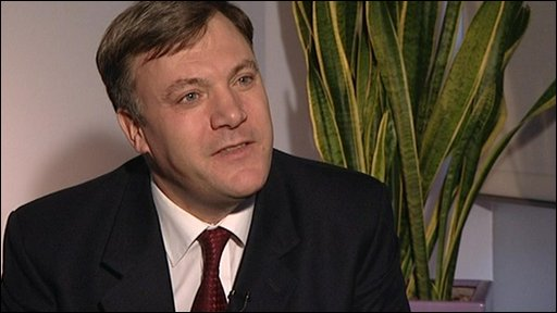 Children's Secretary Ed Balls