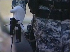 Hand held ADE-651 'bomb detector'