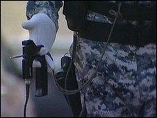 Hand held bomb ADE-651 'bomb detector'