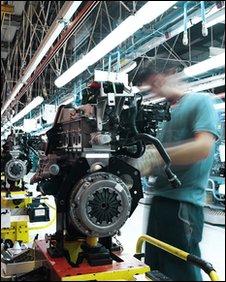 HCCI engine being built