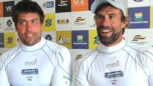 Andrew Simpson and Iain Percy