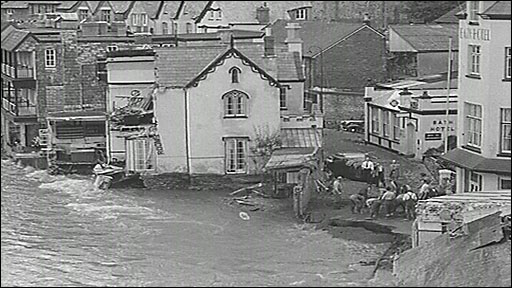 Lynmouth flood, 1952