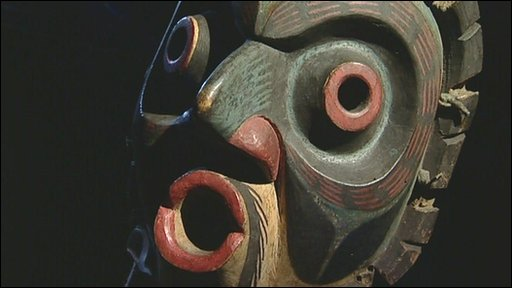 Ritual mask of the Haida people