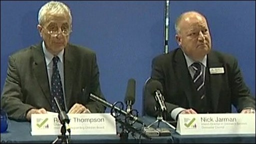 Doncaster Council's Roger Thompson and Nick Jarman