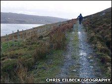 Path to Scoraig. Image: Chris Eilbeck/Geography