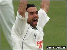 Hampshire fast bowler Kabir Ali