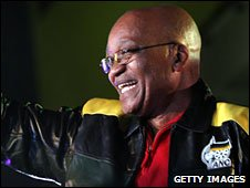 Jacob Zuma in President No 1 in April 2009