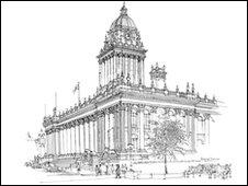 Leeds Town Hall - Richard Downer
