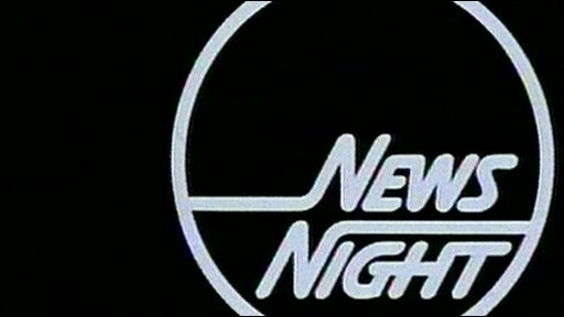 An old Newsnight logo