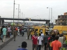 Lagos street scene