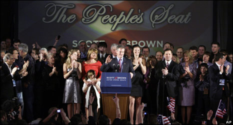 Scott Brown victory speech