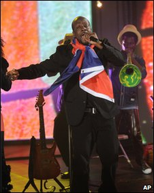 "Wyclef Jean performs at ""Hope for Haiti Now: A Global Benefit for Earthquake Relief"", on Friday, Jan. 22, 2010 in New York."