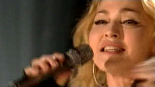 Madonna performs at Hope for Haiti Now