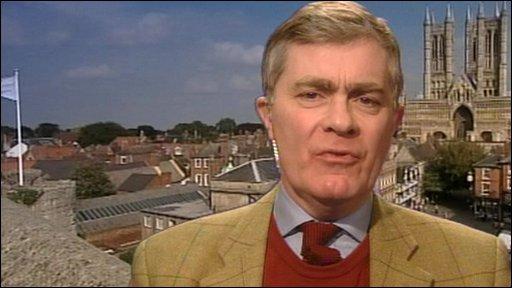 Conservative MP Patrick Mercer