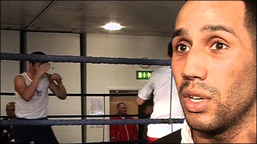 Olympic middleweight champion James DeGale backs the decision for the 2012 Olympic boxing to be at London dockland's ExCel Centre