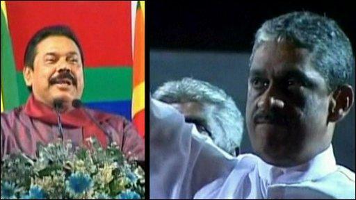 Sri Lanka presidential candidates