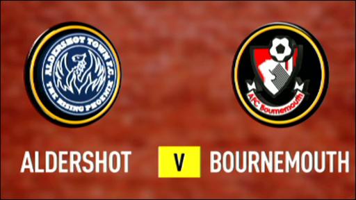 Aldershot 2-1 Bournemouth