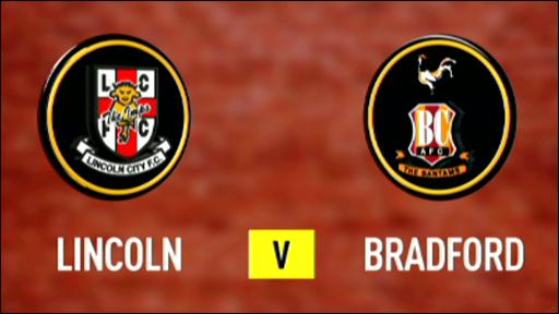 Lincoln 2-1 Bradford