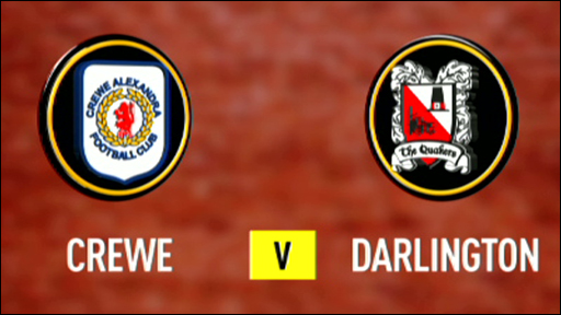 Crewe 3-0 Darlington