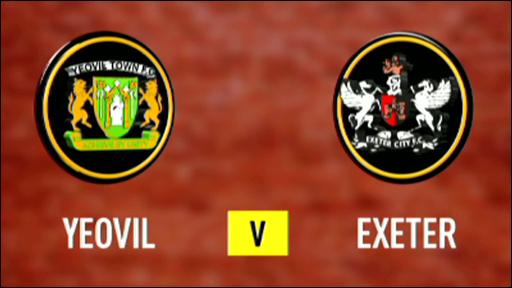 Yeovil 2-1 Exeter