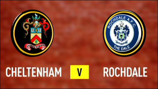 Cheltenham 1-4 Rochdale