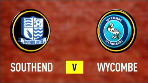 Southend 1-1 Wycombe