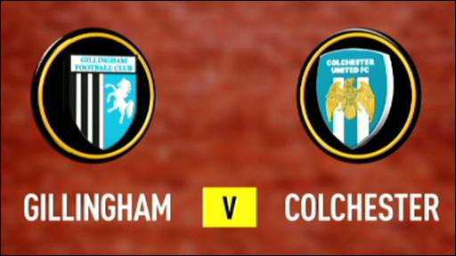 Gillingham 0-0 Colchester