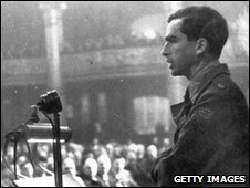 Major Denis Healey Speaks At Labour Pary Conference 1945