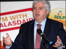 Dr Alasdair McDonnell has written an angry letter to David Cameron