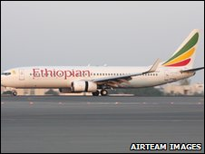 Ethiopian Airlines Boeing 737-800