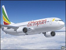 Ethiopian Airlines 737-800