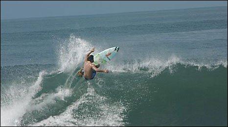 Lyndon Wake in Bali