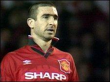 Eric Cantona in 1996