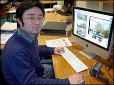 Chris Li at the University of Bath