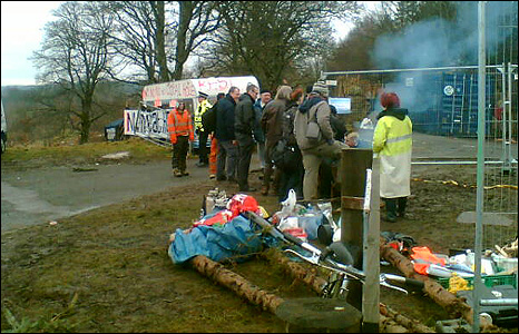 Mainshill Wood Solidarity camp