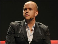 Spotify's Daniel Ek at Midem