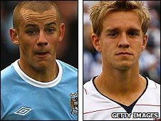 Vladimir Weiss (left) and Stuart Holden