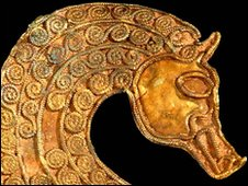Anglo-Saxon horse head
