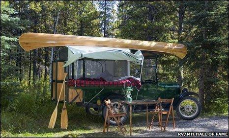 1926 T-Tent Camper
