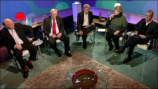 Neil Kinnock, Chris Patten, Jeremy Paxmxan, AS Byatt, Martin Amis