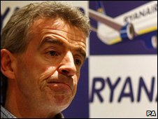 Michael O'Leary, chief executive, Ryanair