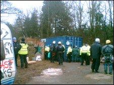 Mainshill Wood Solidarity camp