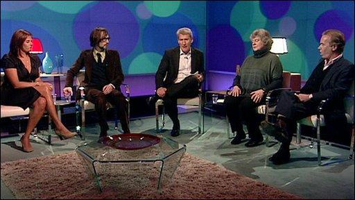 Tracey Emin, Jarvis Cocker, Jeremy Paxman, AS Byatt, Martin Amis