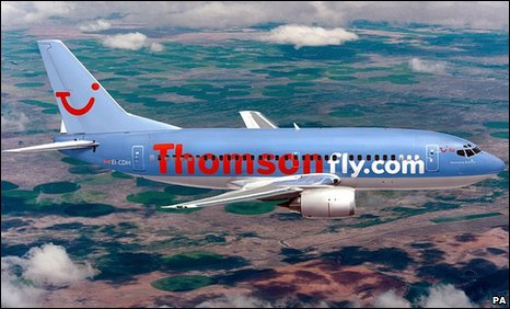A Thomson Airways plane (generic)