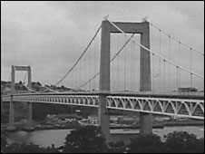 Tamar Road Bridge, 1961